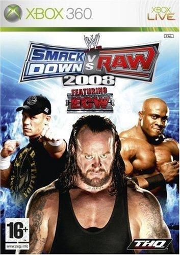 WWE SmackDown Vs Raw 2008 : Xbox 360 , ML