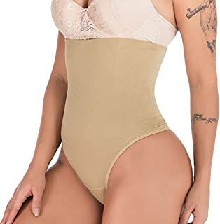 Women Tummy Tucker Shapewear High Waist Slimming Sexy Thong for Tummy and Hips