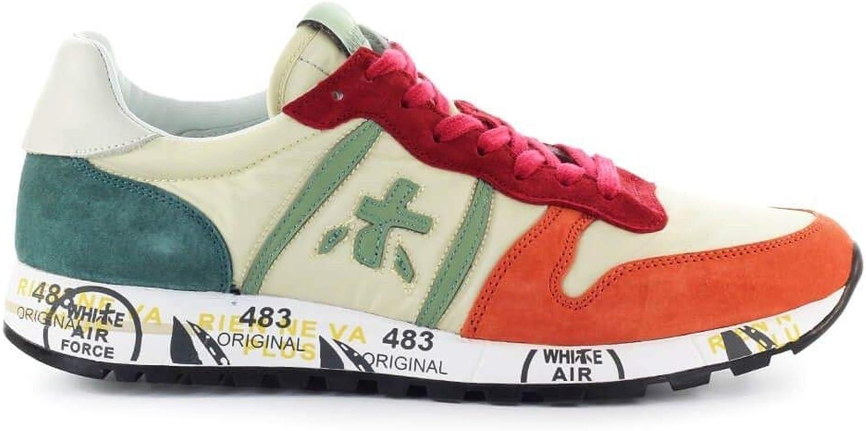 PREMIATA Herren Herren Herren ERIC3773 Weiss Wildleder Sneakers B07PQN2KX3 dd4efc