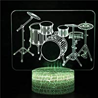 3Dナイトライト子LED Night light リモコン 寝かしつけランプ音符16色変更 調光機能 男の子 女の子 クリスマス 女性 人気誕生日プレゼント 結婚 バレンタインデー 母の日 父の日 子供 プレゼント
