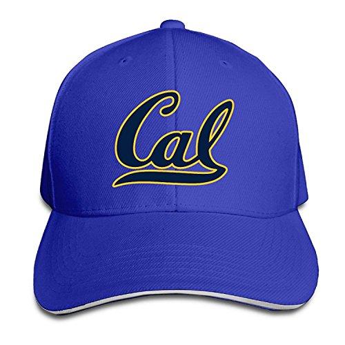T121 University Of California Berkeley Cal Sandwich Flex Fit Hat Outdoor Cap RoyalBlue