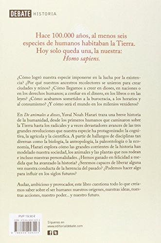 Resumen del libro de Yuval Noah Harari SAPIENS. DE ANIMALES A DIOSES