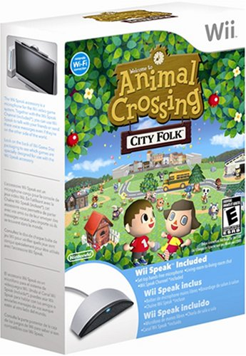 Animal Crossing: Let's Go To The City with Wii Speak [UK Import]