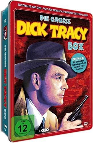 Dick Tracey - Deluxe - Metallbox [4 DVDs]