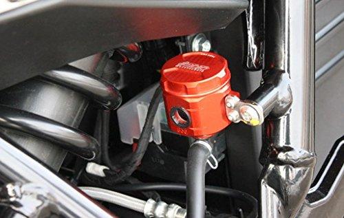 GSG Bremsflüssigkeitsbehälter rot eloxiert Hinten Husqvarna Nuda 900/R 2012-2014 ABE