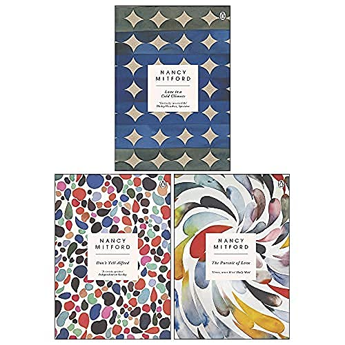 Radlett and Montdore Book Series By Nancy Mitford 3 Books Collection Set (The Pursuit of Love, Love in a Cold Climate, Don't Tell Alfred)