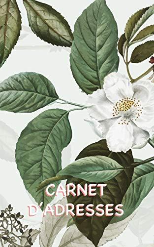 Carnet d'Adresses: Carnet d'Adresses Cerisiers en Fleurs avec Suffisamment d'Espace pour 150 Noms, Adresses, Numéros de Téléphone Personnels et Mobiles, Adresses e-mail et Anniversaires de Contacts
