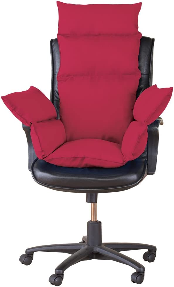 100% quality warranty! Extra Support Cozy Burgundy Long-awaited Chair Cushion