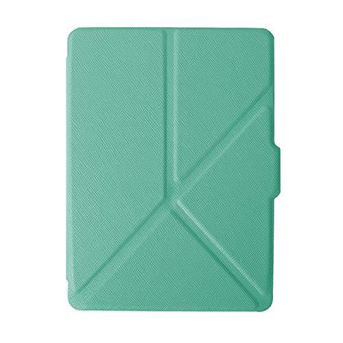 DRTWE Hülle Für Kindle,Origami Fall Fit Kindle Voyage Kindle1499 Mint Grün Ultra...