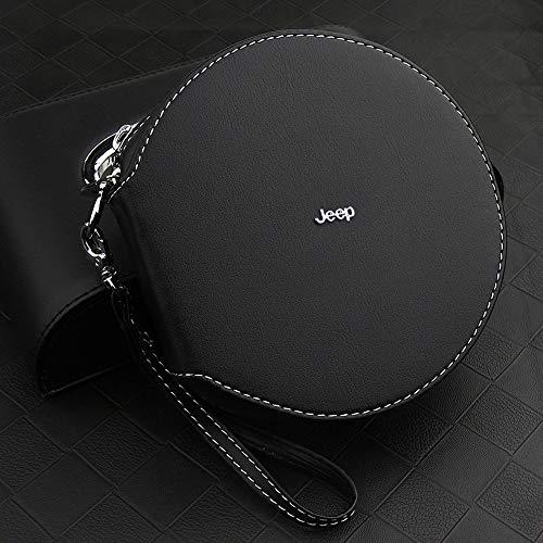 YYD Auto-CD-Speicherbeutel-Organisator-Speicher-Halter, Multifunktions Disc Speicherclip,Jeep