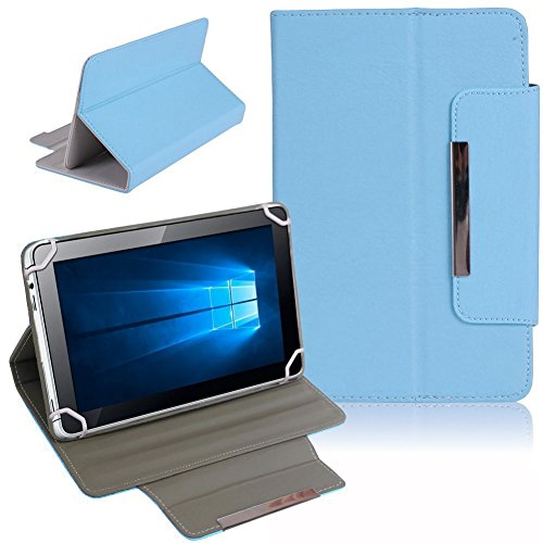 Nauci Kiano Intelect 8 MS Tablet Schutz Tasche Hülle Schutzhülle Hülle Cover Bag, Farben:Hellblau