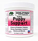 Dogzymes Fading Puppy Support Probiotics Prebiotics Enzymes Glucose Electrolytes Vitamins Minerals Mix 1 to 16 with Water (3 Ounce)
