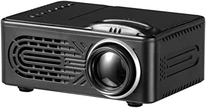 """$44 » Roisay Mini Projector,700 Lumens Portable Video Projector,Full HD 1080P Supported,20000 Hrs LED,80"""" Display,Compatible with TV/HDMI/VGA/USB/TV Box/Laptop/DVD/PS4/AV/TF and USB,Multimedia Home Theater"""