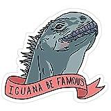 Vijk kor Iguana Be Famous Adesivi (3 Pezzi/Confezione)
