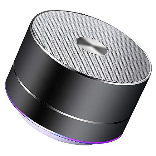 Bluetooth luidspreker, draagbaar, Bluetooth, draagbaar, LED, stereo, draagbaar, draadloos, met geïntegreerde microfoon, MP3, smart speaker.