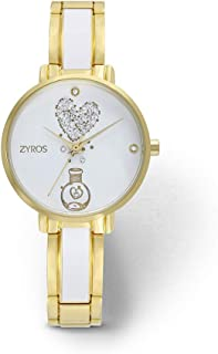 ZYROS Wristwatch for Women, Metal, ZAA108L010103