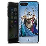Coque Compatible avec Apple iPhone 7 Plus Étui Housse Disney La Reine des Neiges Cadeaux pour Supporters