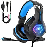 Beexcellent Pro Gaming Headset for PS4 Xbox One...