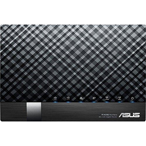 ASUS RT-AC56U Dual-Band (2.4 GHz / 5 GHz) Gigabit Ethernet Schwarz
