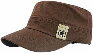 Creazy® Fashion Unisex Flat Roof Military Hat Cadet Patrol Bush Hat Baseball Field Cap