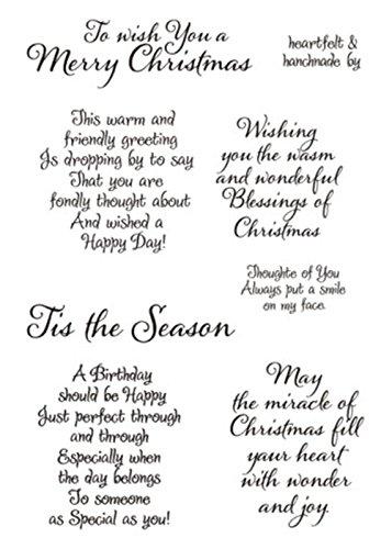 arriettycraft Tis The Season Weihnachtssprüche Gefühle Geburtstags Grüße Stempel DIY Silikon Klar Stempel Blatt Scrapbooking DIY Album Foto