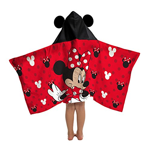 Minnie Mouse Love Cotton Hooded Cape Towel