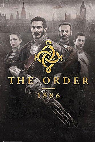 The Order 1886 - Key Art - Games Maxi Poster Druck Poster - Größe 61x91,5 cm