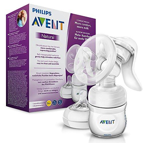 Philips Avent Komfort-Handmilchpumpe (mit Naturnah-Flasche)