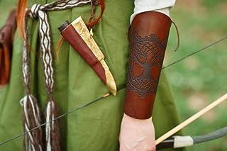 Bracciali in pelle vichinga Yggdrasil