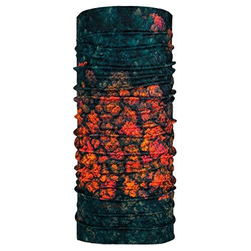 P.A.C. Ocean Upcycling Multifunktionstuch - aus Meeresplastik hergestellt, nahtloses Halstuch, nachhaltiges Schlauchtuch, Schal, Kopftuch, Stirnband, verschiedenste Designs, Unisex, 10 Tragevarianten