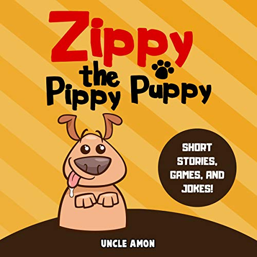 Zippy the Pippy Puppy audiobook cover art