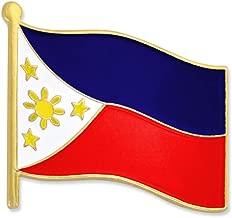 PinMart Philippines World Flag Enamel Lapel Pin 3/4''