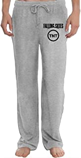 Hefeihe Falling Skies TNT TV Show Men's Sweatpants Lightweight Jog Sports Casual Trousers Running Training Pants