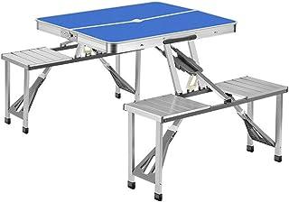 Table Pique-Nique Table Pique Nique Chaise Parapluie Trou Tables Et Chaises Pliantes D'extérieur, Tables Et Chaises Monobl...