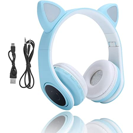 Picun Katzenohren Bluetooth Kopfhörer Kabellos Elektronik