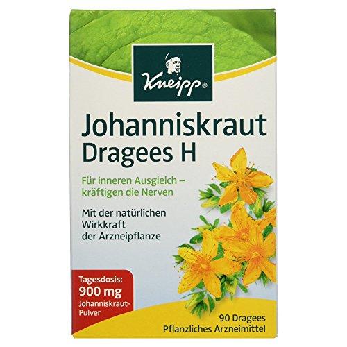 Kneipp Johanniskraut Dragees H, 900 mg, 1er Pack (1 x 90 Dragees)