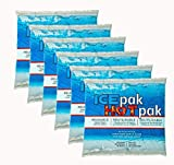 Ice-Pack Cryopak Reusable Ice Pak Hot Pak 6-Pack - for Coolers Lunch Box