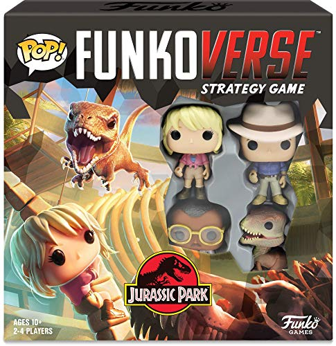 Funko Pop! Funkoverse: Jurassic Park Strategy Game