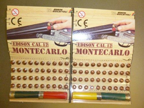 Edison Giocattoli Cal. 12 Montecarlo Cartuccia e Tappi Set x 2 (BT12)
