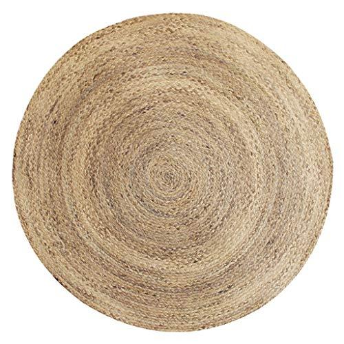 LIYIN-tapijt water riet gras weven handgemaakte tapijt natuurlijke milieuvriendelijke woonkamer koffie tafel slaapkamer bed ronde vloer mat