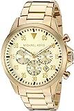 Michael Kors Men' sGage Gold-Tone Watch MK8491