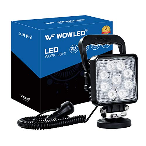 WOWLED 27W LED Arbeitsleuchte Offroad Flutlicht Truck 17,8cm 12V 24V