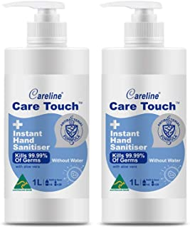 Care Touch Value Pack 2 x 1L Instant Hand Sanitiser