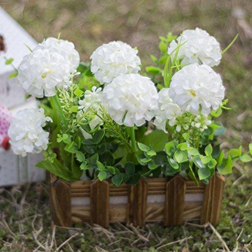 2018 Decoratieve bloemen kunstige zijde mini bloemen en planten voor indoor decoratie (zeer veel kleur 16 cm) in een pot fake hanging Vine plant bladeren slinger huis tuin muur poot u
