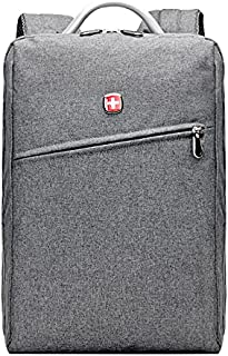 Swissgear Waterproof Simple Laptop Backpack 15.6 inch Swiss Gear Bag for Apple / Dell / Toshiba / Lenovo / Asus / Samsung...