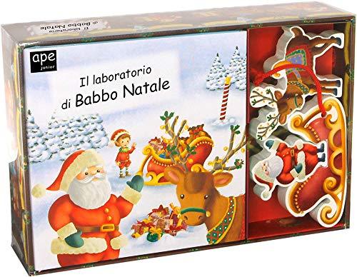 Il laboratorio di Babbo Natale. Little village. Ediz. a colori. Con puzzle