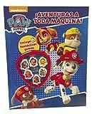 ¡Aventuras a toda máquina! (Paw Patrol | Patrulla Canina. Actividades): (¡Con 6 increíbles gomas de borrar!)