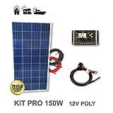 Kit 150W PRO 12V panneau solaire