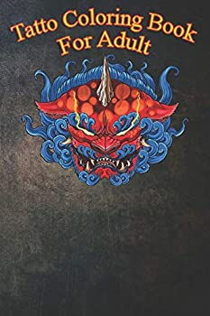 Tatto Coloring Book For Adult  Neojapanese Neotraditional Oriental Tattoo Foo Dog An Coloring Book For Relaxation with Awesome Modern Tattoo Designs