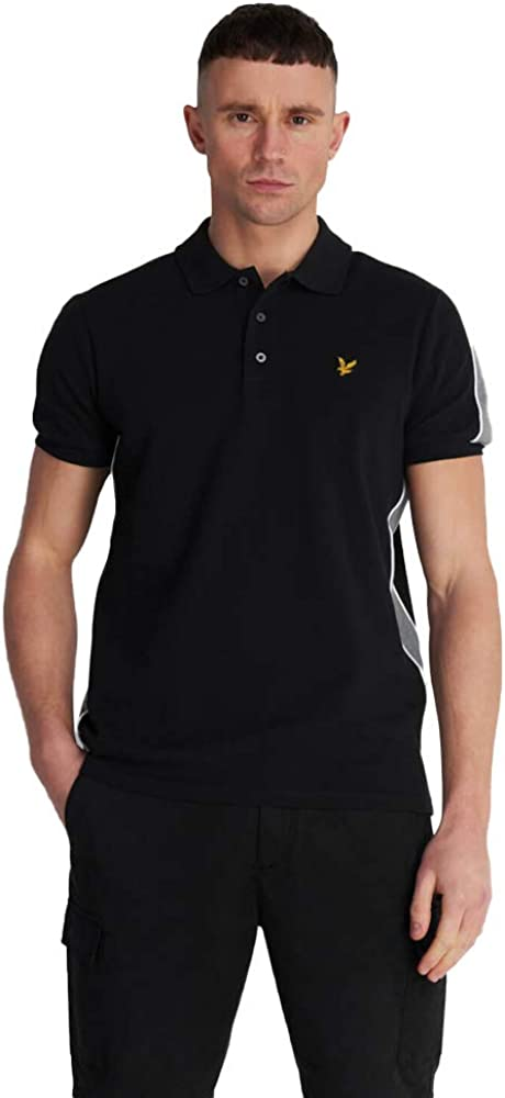 Lyle Scott Piped Polo Black SP1218V OFFicial store Shirt Phoenix Mall
